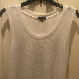 Beyond Yoga Knit White Tank Top Sz Large